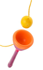 wooden Cup-and-ball (ball in cup) toy