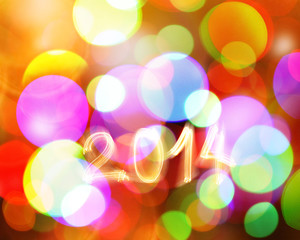 Abstract New year background