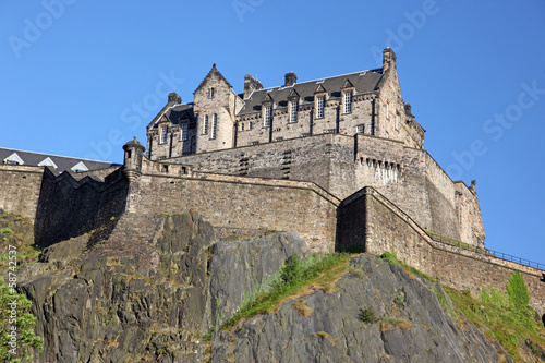 Edinburgh Castle , Scotland, UK