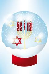 Hanukkah holiday card