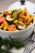 Gebratenes Gemüse mit Schupfnudeln