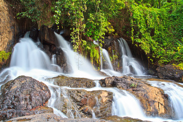 Pha Hua waterfall in Mae Hong Son province of Thailand