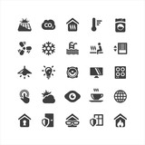 Fototapety Smart Home Icons Set