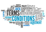 "Word Cloud ""Terms and Conditions"""
