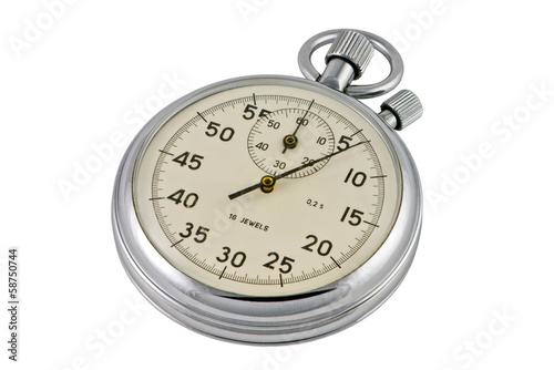 Chronometer mechanic isolated
