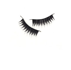 black mascara stroke isolated