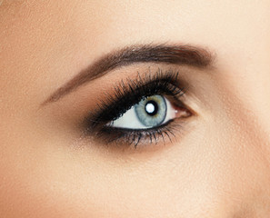 Make-up. Eyes
