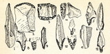 Swiderian culture flint implements (Poland) poster