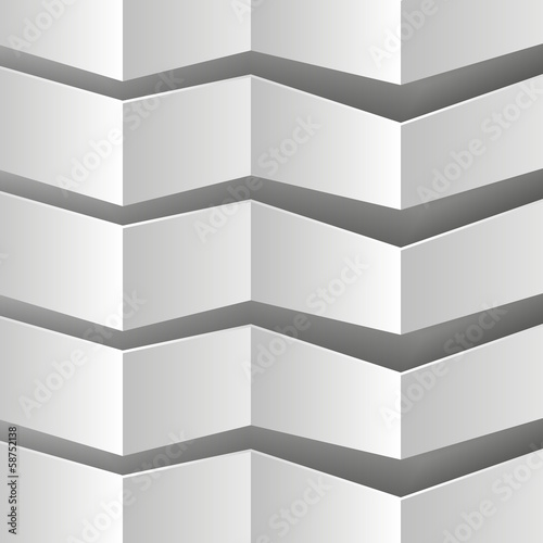 согнутая бумага на сером фоне