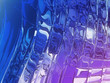 Abstract glass design digital background