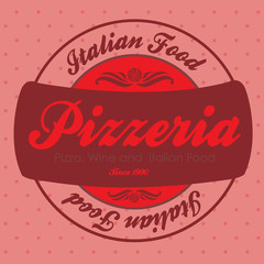 pizzeria label
