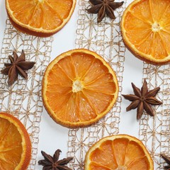 orange et anis étoilé