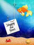 fish celebrate the New Year