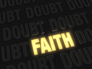 Faith, A Light Amidst  Doubt