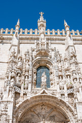 Jeronimos monastery in Portugal, Lisbon