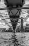 Milllennium Bridge Black and White - 58757556