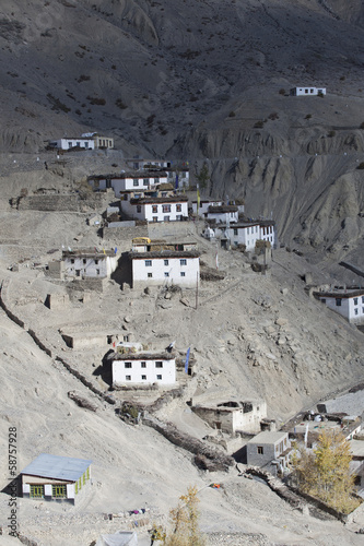 Dhankar. India. Spiti Valley