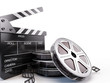 .Film Reels and Clapper board