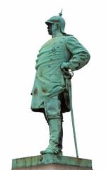 "Statesman ""Bismarck"" in Dusseldorf"