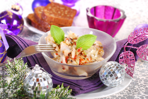 herring salad for christmas