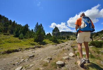 randonnée en montagne
