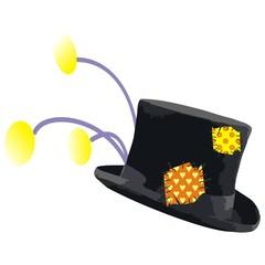 Cappello Clown Cilindro