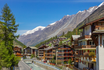 Zermatt in der Schweiz