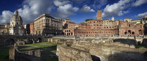 Italy, Rome, Roman Forum (Forum of Trajan, 112 - 113 A.C.)