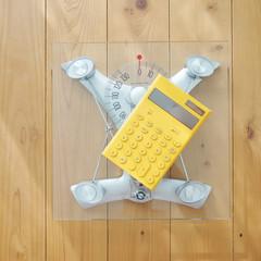 電卓と体重計
