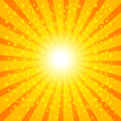 Sun Sunburst Pattern. Vector illustration 2