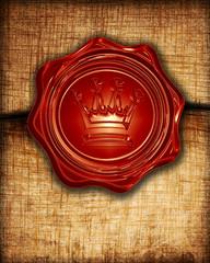 royal wax seal