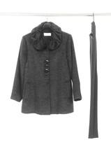 female fashion clothing on hanging