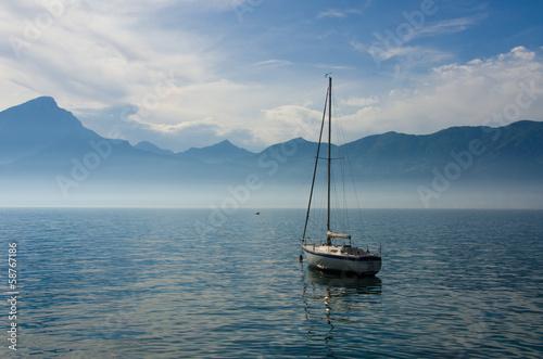 canvas print picture Gardasee -  Garda