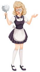 A house maid