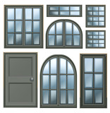 Different windows design