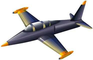 A fighter jetplane