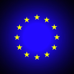 European Union. EU flag. EPS 8