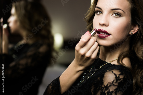 woman make-up