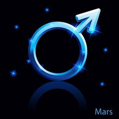 Mars sign.