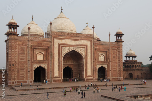 Mosque of the Taj Mahal
