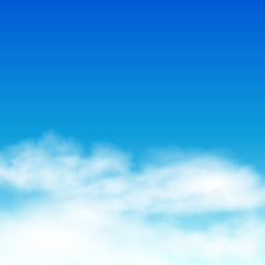 Sky background. Clouds