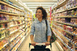 Women,Shopping, Supermarket, Shopping Cart, Retail, Grocery Prod