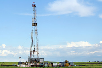 oil industry land drilling rig