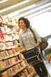 Women,Shopping, Supermarket, Shopping Cart, Retail, Grocery Prod