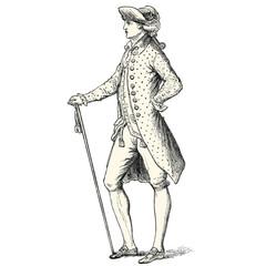 Fashion circa 1780