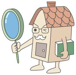 査定する家のキャラクター