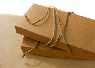 paper box and string