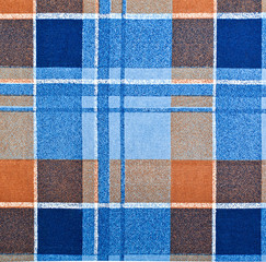 Plaid fabric as a background