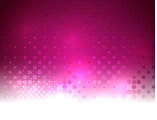 Vector abstract shiny purple bokeh