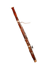 Bassoon Isolated on white